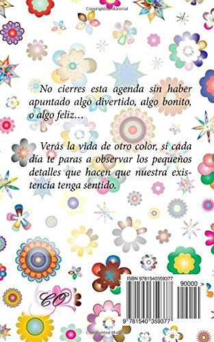 Amazon.com: Agenda 2017 - Diseño flores (Spanish Edition ...