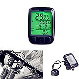 Pevor Waterproof Multifunction Wireless Bicycle Computer Odometer Speed meter LCD Backlight Wireless Stopwatch