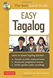 Easy Tagalog: Learn to Speak Tagalog Quickly (CD-ROM Included)