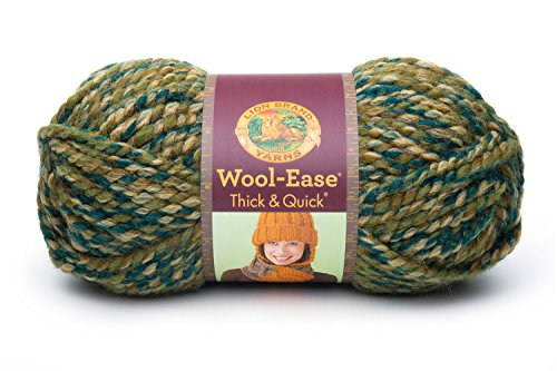 Lion Brand Lion  640-523 Wool-Ease Thick & Quick Yarn , C...