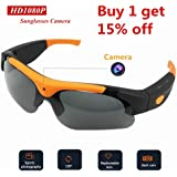 Sunglasses Camera,Timmery SM16 8M Pixels Real Full HD 1080P with 120°Wide Angle Mini Camera Video for Outdoor Sports