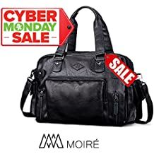 [CYBER MONDAY SALE] Moiré Balthazar Workbag Luxury Mens Travel Duffel Bag Weekender Laptop Work Bag