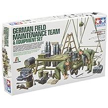 Tamiya Italeri Series No.23 1/35 German Field maintenance soldiers team equipment set plastic model 37023