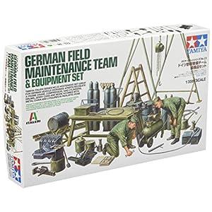 Tamiya Models German Field Maintenance Team W/Equip Figure Model Building Kits