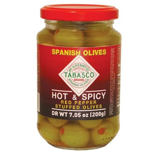 (Tabasco Olive Stuffed Spanish Pimento (Pack of 1))