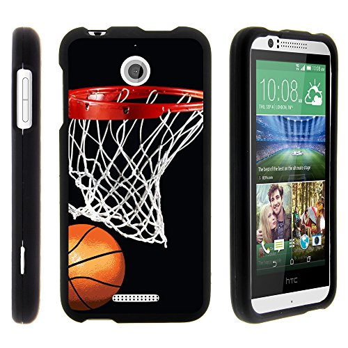 HTC Desire 510 Phone Case, Slim Hard Shell Snap On Case with Custom Images for HTC Desire 510 from MINITURTLE - Basketball Swish