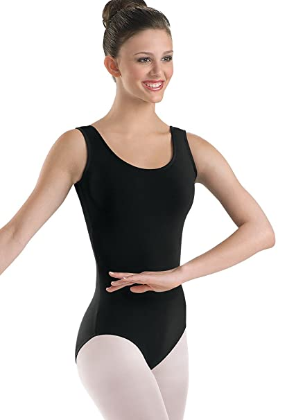 163c415ef Amazon.com: Balera Adult Cotton Dance Leotard Tank Style: Clothing