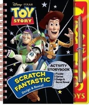 Disney Toy Story 3 Scratch Fantastic Activity (Fantastic Activities)