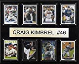 MLB Atlanta Braves Craig Kimbrel 8-Card Plaque, 12 x 15-Inch