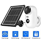 1080P Solar Wireless Camera,Outdoor Security Camera,App...