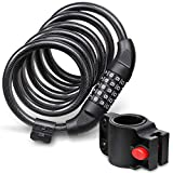 Best Cables With Lock Latches - Fosmon Bike Lock Cable (6FT), Heavy Duty 5-Digit Review