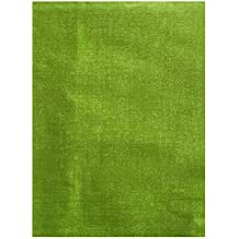 "Woven Straw Textured Solid Pattern Indoor/Outdoor Flannel Backed Vinyl Tablecloth, 60"" x 84"" Oblong, Apple Green"