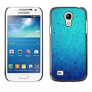 TopCaseStore / la caja del caucho duro de la cubierta de protección de la piel - Water Diving Sea Rain Emotional - Samsung Galaxy S4 Mini i9190 MINI VERSION!
