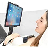 """iPad holder for bed by tstand handsfree tablet stand fits all 7""""-13"""" tablets Black"""