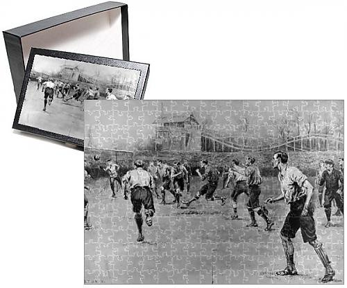 Photo Jigsaw Puzzle of Nottingham Forest vs. Derby County F.A. Cup Final, 1898