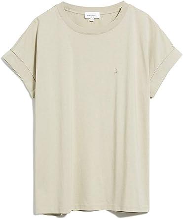 ARMEDANGELS - Camiseta de Manga Corta para Mujer (algodón orgánico ...