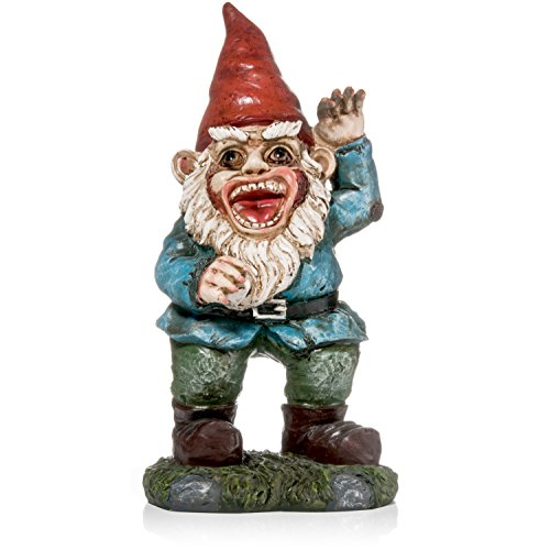 Patio Eden - Zombie Garden Gnome - Funny Novelty Item  - 11 x 5 Inches -