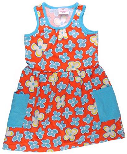 hanna Andersson Girls Sun Dress (5-6, Orange & Blue) from Hanna Andersson