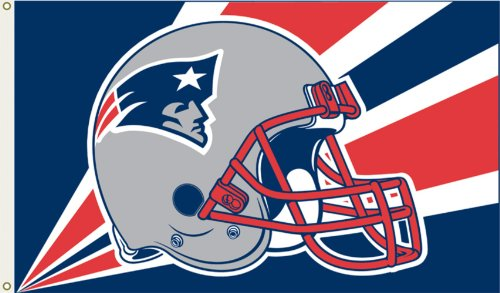 Nfl New England Patriots 3 By 5 Foot Flag