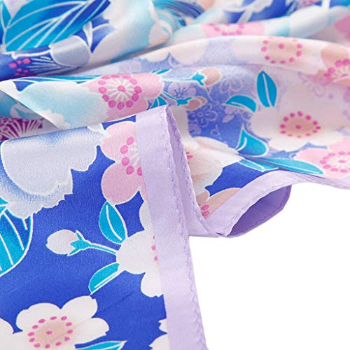 Seta colore Gxy Quadrata Selvaggia Sciarpa C Seta A Di Piccola PwqnErw0