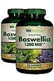 TNVitamins Boswellia Serrata 1200 Mg (2x90 Capsules)