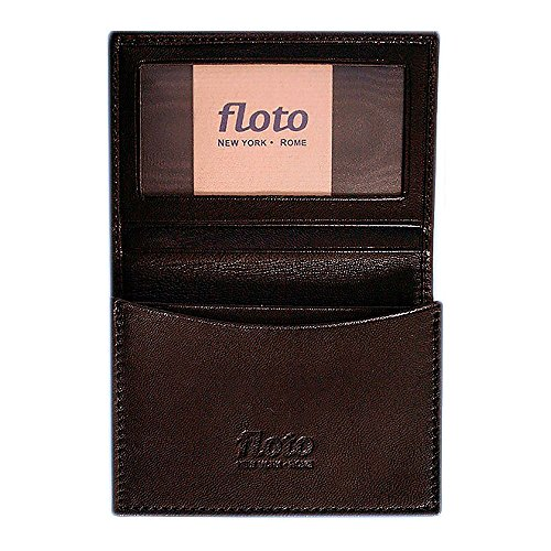 [Custom]Floto Mens Leather Business Card Case wallet in Black by Floto