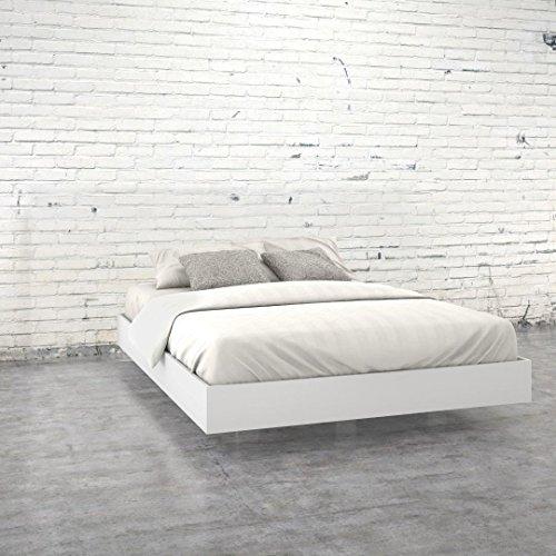 Nexera 346003 Queen Size Platform Bed, White