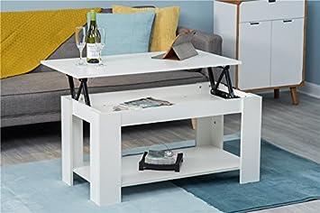 Amazon De Furnituremaxi Couchtisch Modern Hochklappbar Mit