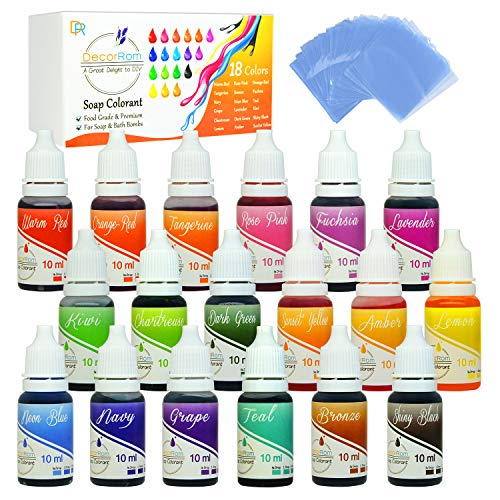 18 Color Skin-Safe Dye Set