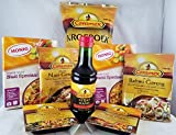 Bundle - 8 Items : Indonesian Nasi (Rice) and Bahmi (Noodle) Dinner Ingredients