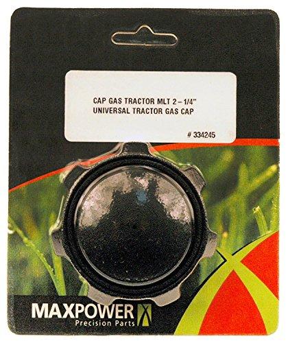 (Maxpower 334245 2-1/4 Inch Tractor Gas Cap Replaces Briggs & Stratton 493988, Snapper 12515, 19378)
