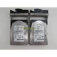 Lot of 2 IBM 39R7350 146.8GB 16MB 15K RPM SAS Hard Drive HUS151414VLS300 + Tray