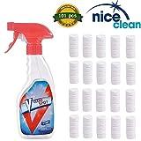 101 Pcs Multi Functional Effervescent Spray Cleaner Set With 1 Spray Bottles - For Car, Kitchen, Toilet All Purpose Home Cleaning Effervescent Spray Cleaner Set