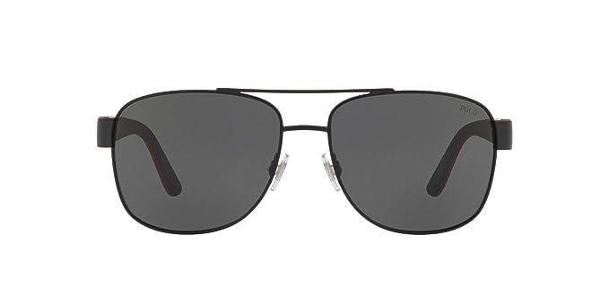 Ralph Lauren POLO 0PH3122 Gafas de Sol, Matte Black, 59 para ...