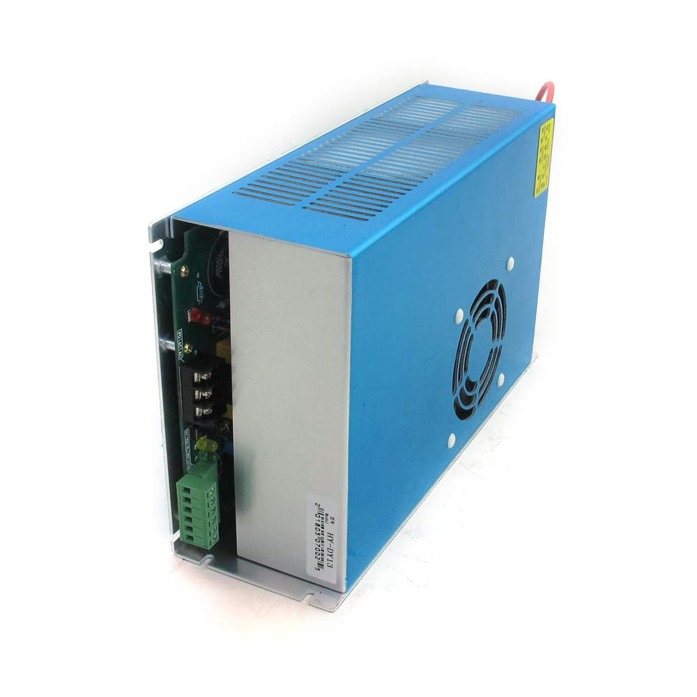 WEEGAINT SP and Others for EFR 110V 100W Co2 L.a.s.e.r Power Supply HY-DY13 for CO2 Engraving Cutting Machine Compatible with RECI Z4 // W4 // S4 100-120w L.a.s.e.r Tube Yongli