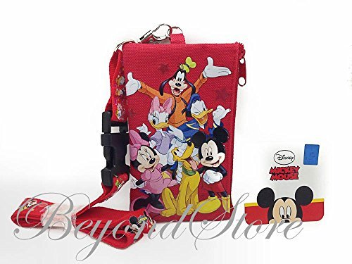 Disney Mickey&Friends KeyChain Lanyard Fastpass ID Ticket - Shop Disneyland