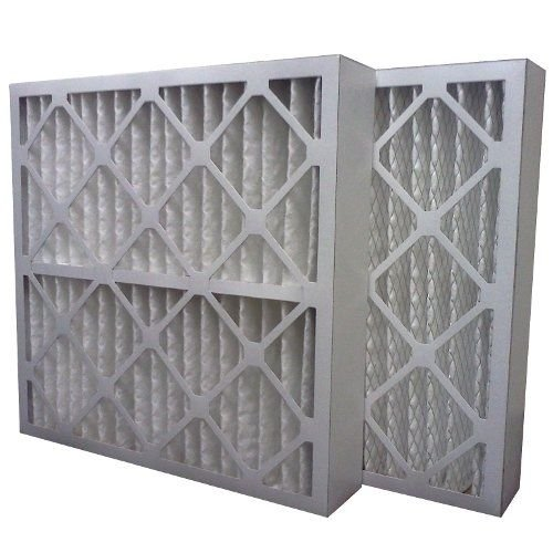 (6) Filters 16x25x4 MERV 13 Furnace Air Conditioner Filter - Made in USA