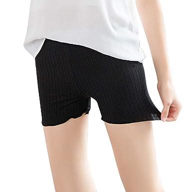 768d3695bebe5 DEELIN Sale Clearance Womens Lingerie Fashion Lace Leggings Pants Mid Waist  Casual Hot Stretchy Underwear Yoga Shorts Boyshort Seamless Safety Pants:  ...