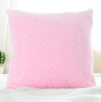 Sofá almohada almohada cojín coral vellón sofá almohadilla ...