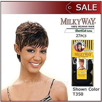 Amazon Com Human Hair Weave Milky Way 27 Pieces Hair Care