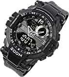 [LAD Weather] Mens Watch 200m Water Resistance Military Outdoor Sports lad052