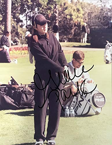 Grace Park Signed Golf 8x10 - Golf Parka