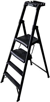 Escalera plegable Escalera de cuatro peldaños, Fotografía al aire libre Escalera Almacén de ingeniería Tamaño de escalera 55 * 85 * 150 cm Multifuncional (Tamaño : 55 * 85 * 150CM): Amazon.es: Bricolaje y herramientas