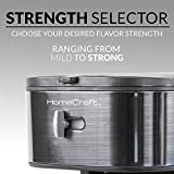 HomeCraft HCIT3BS 3-Quart Black Stainless Steel