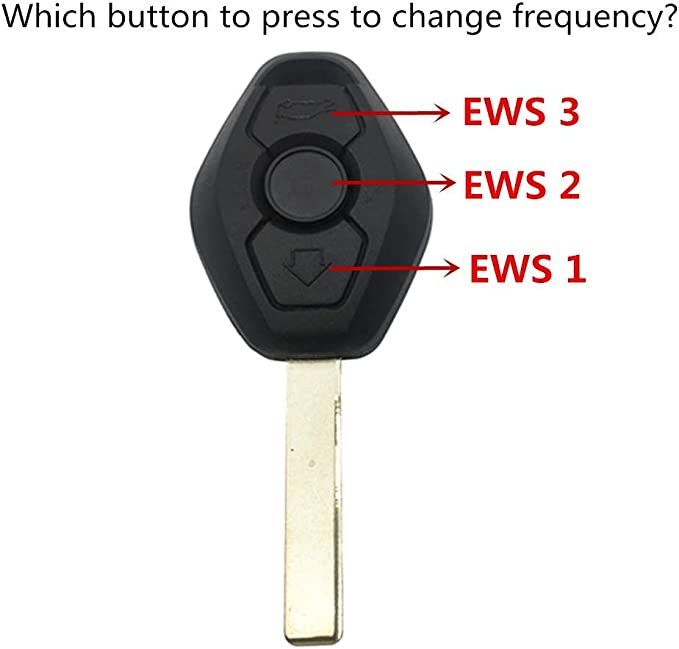 Dudely New Uncut Chip Chip Id44 315mhz 433mhz Keyless Entry Remote Control Car Key Replacement For Bmw Lx8 Fzv Z4 X 3 X5 E46 Series 3 5 6 7 Z3 Include Electronic Battery And Chip Automotive Amazon Com
