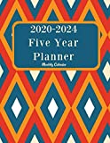 """2020-2024 Five Year Planner: 60 Month Appointment Calendar, Business Planners, Agenda Schedule Organizer Logbook and Journal 8.5""""x11"""""""