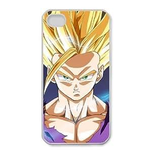 iphone4 4s phone case white Dragon Ball (change) SSG9120974