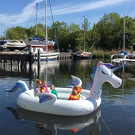 New Wave Swim Buoy WAVETM Piscina y Barco Hinchable Gigante ...