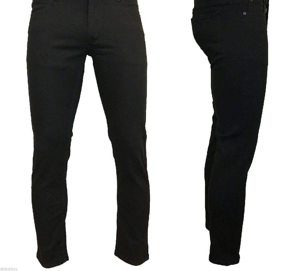 HIFORU CLOTH Men's Skinny Fit Stretch Twill Denim Jeans Pants Size 28-42