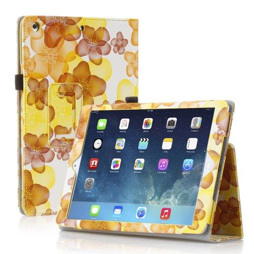 TNP iPad Case Floral Yellow